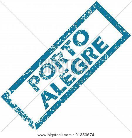 Porto Alegre rubber stamp