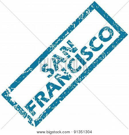 San Francisco rubber stamp