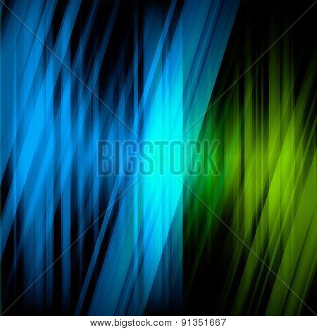 Futuristic technology stripe background design grid