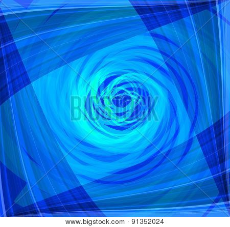 Twist Abstract blue background design template