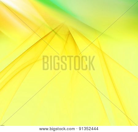 Light yellow background with rays light blur