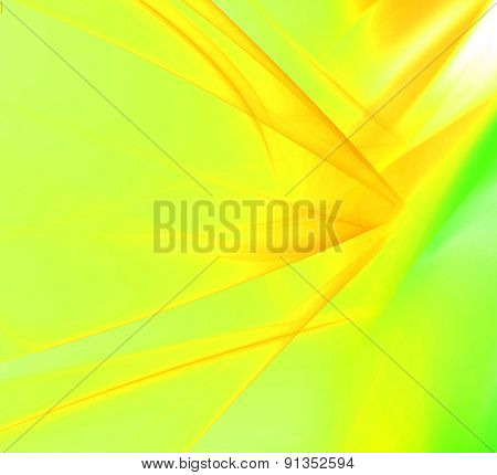 Soft light abstract yellow and green background