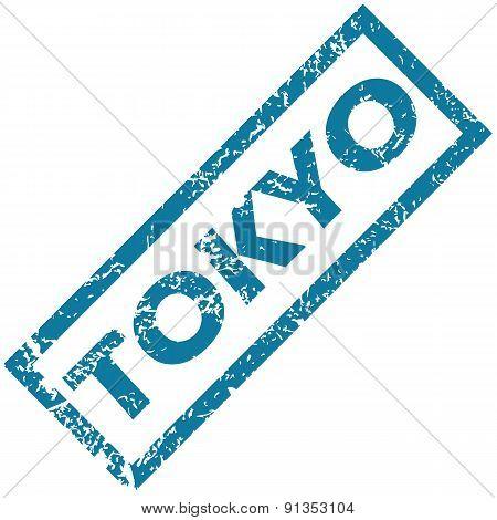 Tokyo rubber stamp