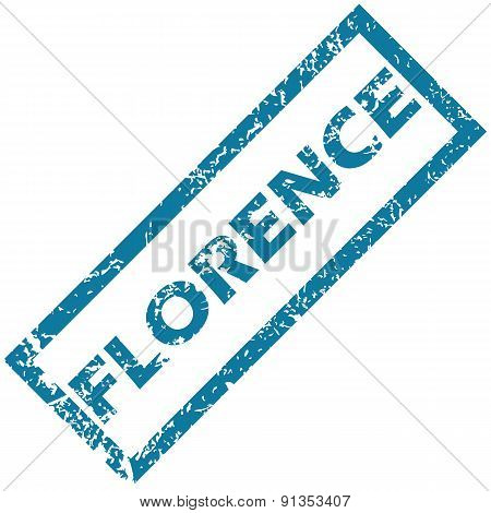 Florence rubber stamp