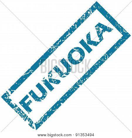 Fukuoka rubber stamp