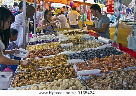 Street Fair Tend Of Hand Made Candies