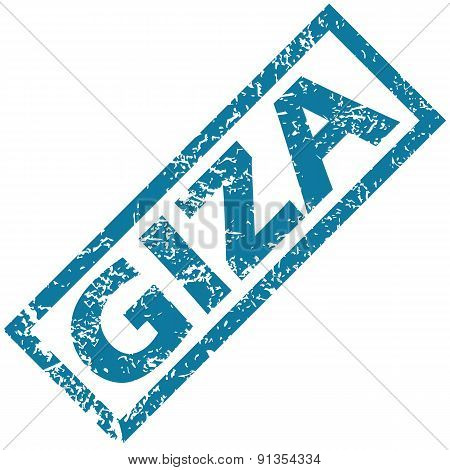 Giza rubber stamp