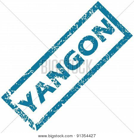 Yangon rubber stamp