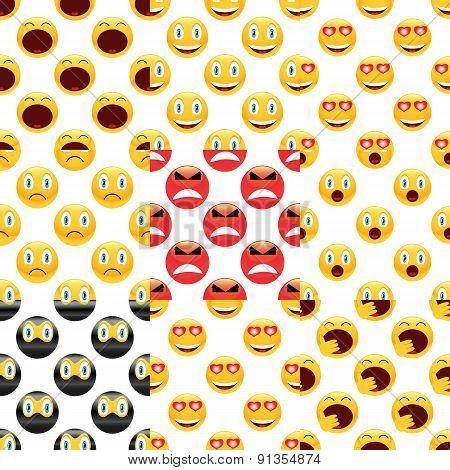 Smile pattern set