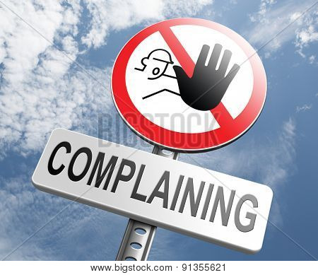stop complaining accept fate and be positive dont complain and take responsibility be responsible