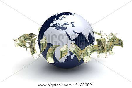 Global Business Iranian Rial Currency