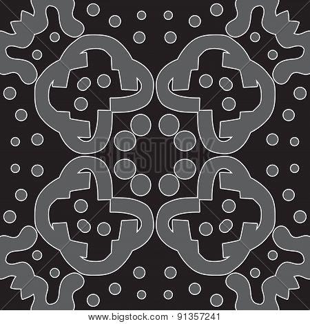 Gray Symmetry Pattern
