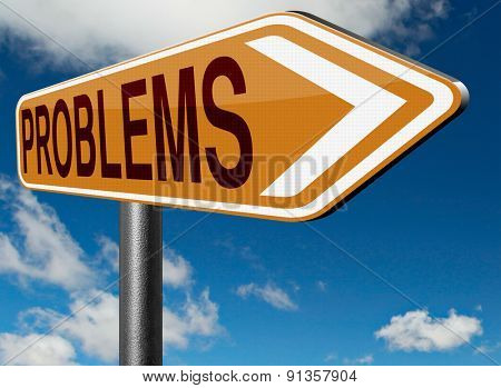 problems solved solutions found no problem without solution road sign