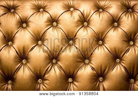 Close Up Brown Leather Texture Background