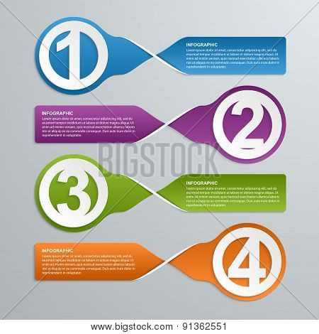 Abstract Infographic Design Template. Vector Illustration.