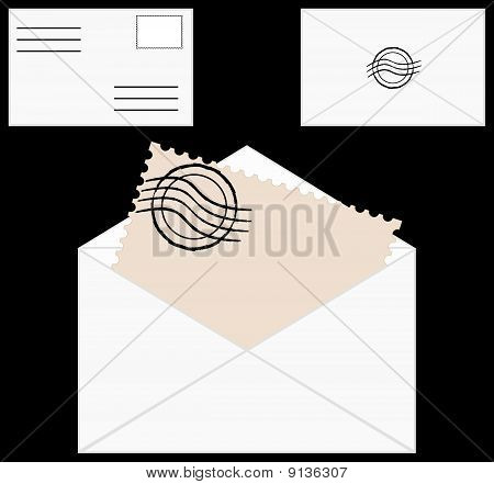 Envelope With Spamp