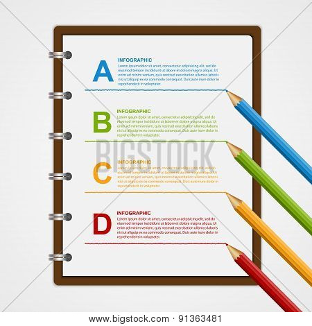 Education Infographics Design Template.