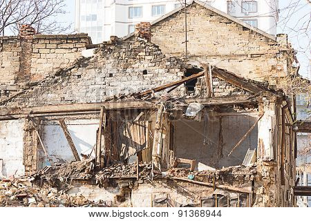 Ruins Of The Hous