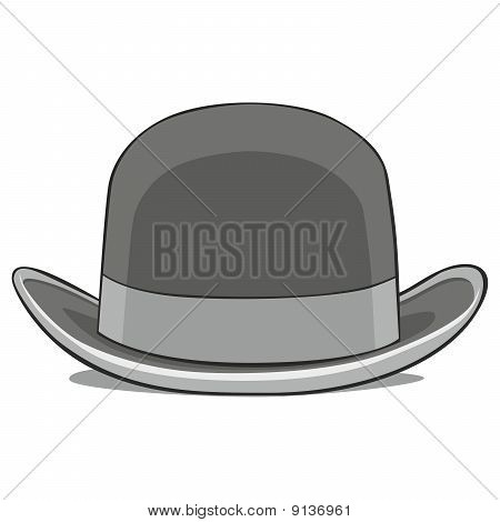 illustration of one hat derby