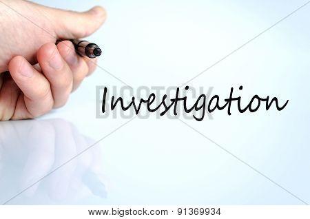 Investigation Concept
