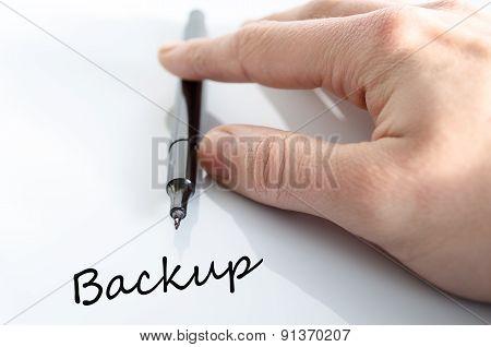 Backup Concept