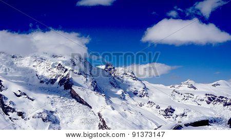 Snow Alps Mountains