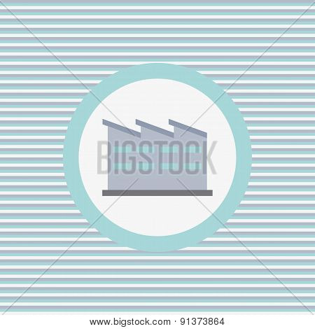 Warehouse Color Flat Icon