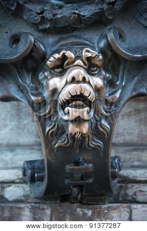 Lion muzzle at the Residenz