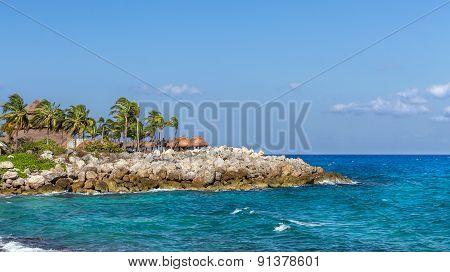 Mexican Rocky Coast