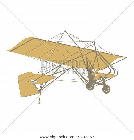 illustration of isolated glider