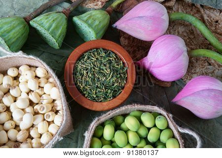 how to make lotus seed tea