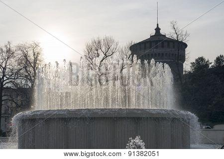 Milan (italy): Castello Sforzesco