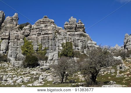 El Torcal De Antequera, Andalucia