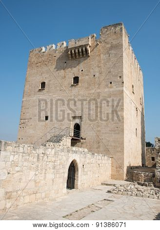 Medieval Historic Castle Of Kolossi, Limassol, Cyprus