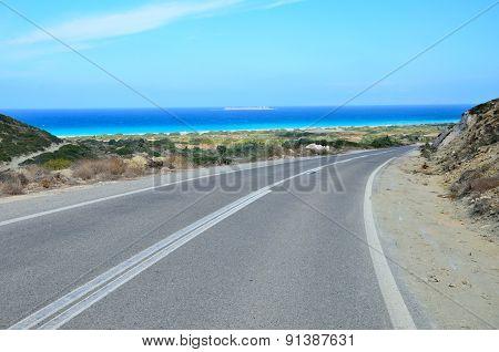 Rhodes Island - Road