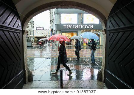 Door To A Street