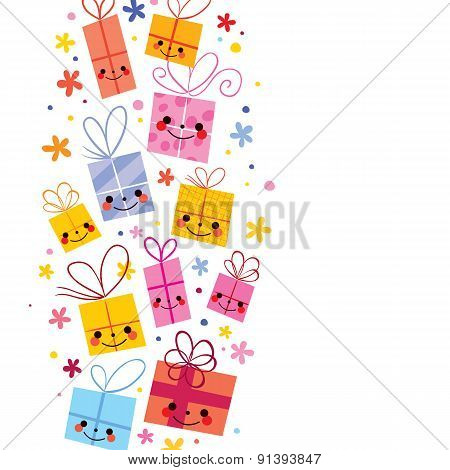 cute gifts background