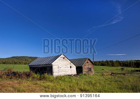 Rustic Sheds.