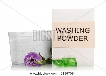 Washing powder isolated