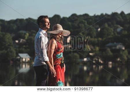 Couple on pean
