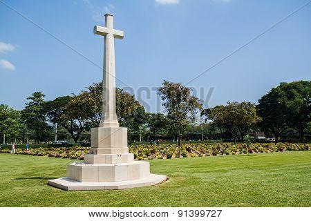 Allied War Cemetery Kanchanaburi Thailand