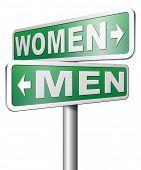 foto of gender  - men women gender differences  - JPG