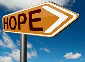 stock photo of hope  - hope bright future hopeful for the best optimism optimistic faith and confidence belief in future think positive