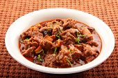 picture of nasi  - Tasty  and spicy Mutton curry from Indian cuisine - JPG