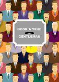 foto of coat tie  - Book a true gentleman - JPG