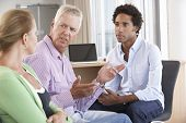 stock photo of counseling  - Middle Aged Couple Having Counselling Session - JPG
