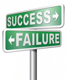 foto of wise  - success versus failure being successful or fail win or loose make an important decision and choose wise - JPG