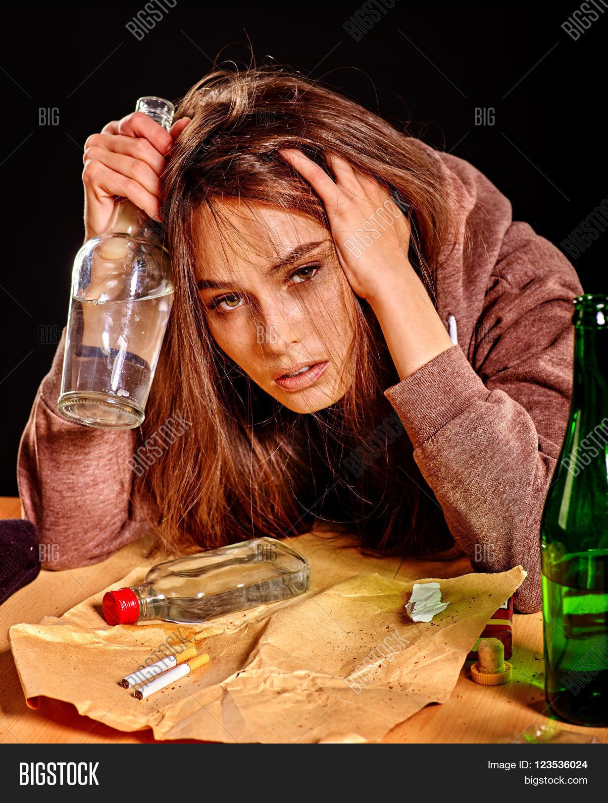 Пьянство девушек фото