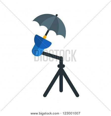 Studio, stand, photography icon vector image. Can also be used for photography. Suitable for use on web apps, mobile apps and print media.