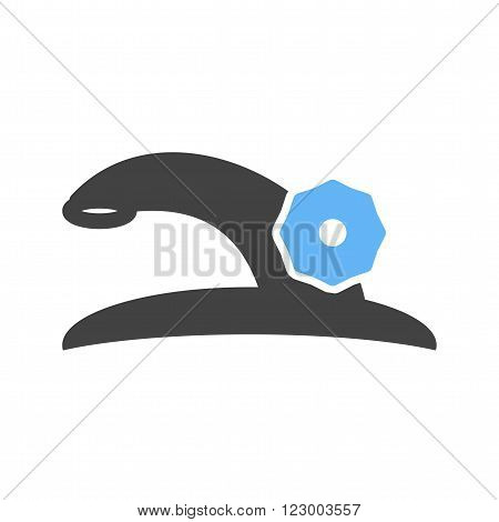Faucet, tap, water icon vector image. Can also be used for tools. Suitable for use on web apps, mobile apps and print media.